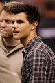 Taylor Lautner At The New Orleans Saints NFL Game - twilight-series photo