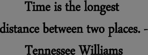 Tennessee Williams-Time