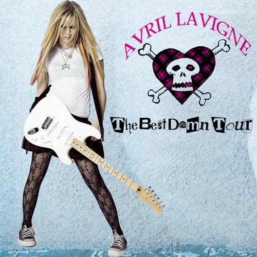 The Best Damn Tour [FanMade Album Cover]
