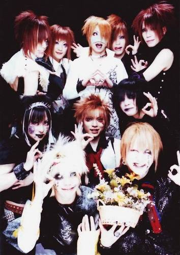 The GazettE with Hanamuke