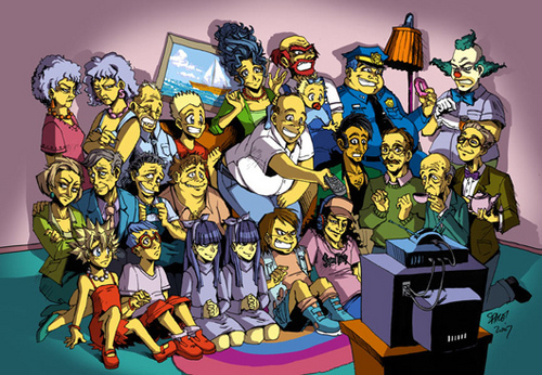 The Simpsons 아니메