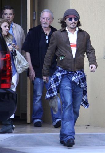The depp family in Miami Dec 19 2010