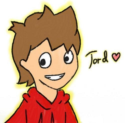 Eddsworld wallpaper possibly containing anime called Tord <3