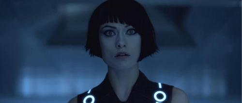 Quorra wallpaper containing a portrait called Tron Legacy - Quorra