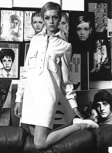 The 60's wallpaper called Twiggy