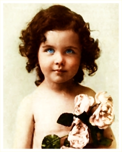 детские фото вивьен