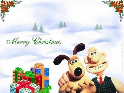 Wallace and Gromit 크리스마스