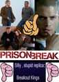 We want PRISON BREAK season 5 with MICHAEL SCOFIELD - Not stupid Breakout Kings - prison-break fan art