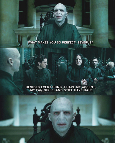 What makes tu so perfect, Severus ?