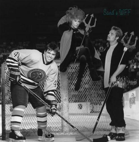 Will in HE-double hockey sticks