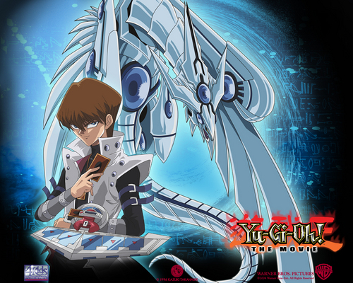 Yu-Gi-Oh wallpaper with anime titled blue eyes shining dragon kaiba