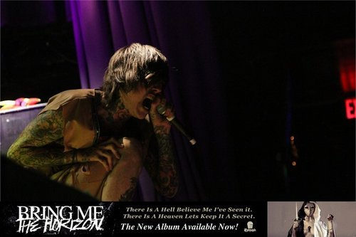 Bring Me The Horizon wallpaper containing a show, concerto titled bmth