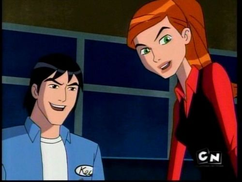 gwen and kevin ben 10
