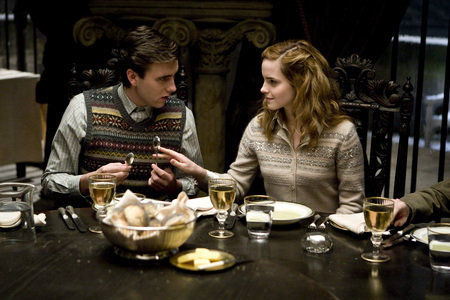 hermione and neville in 6th taon