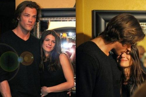 Jared Padalecki & Genevieve Cortese wallpaper entitled jared padalecki and genevieve padalecki