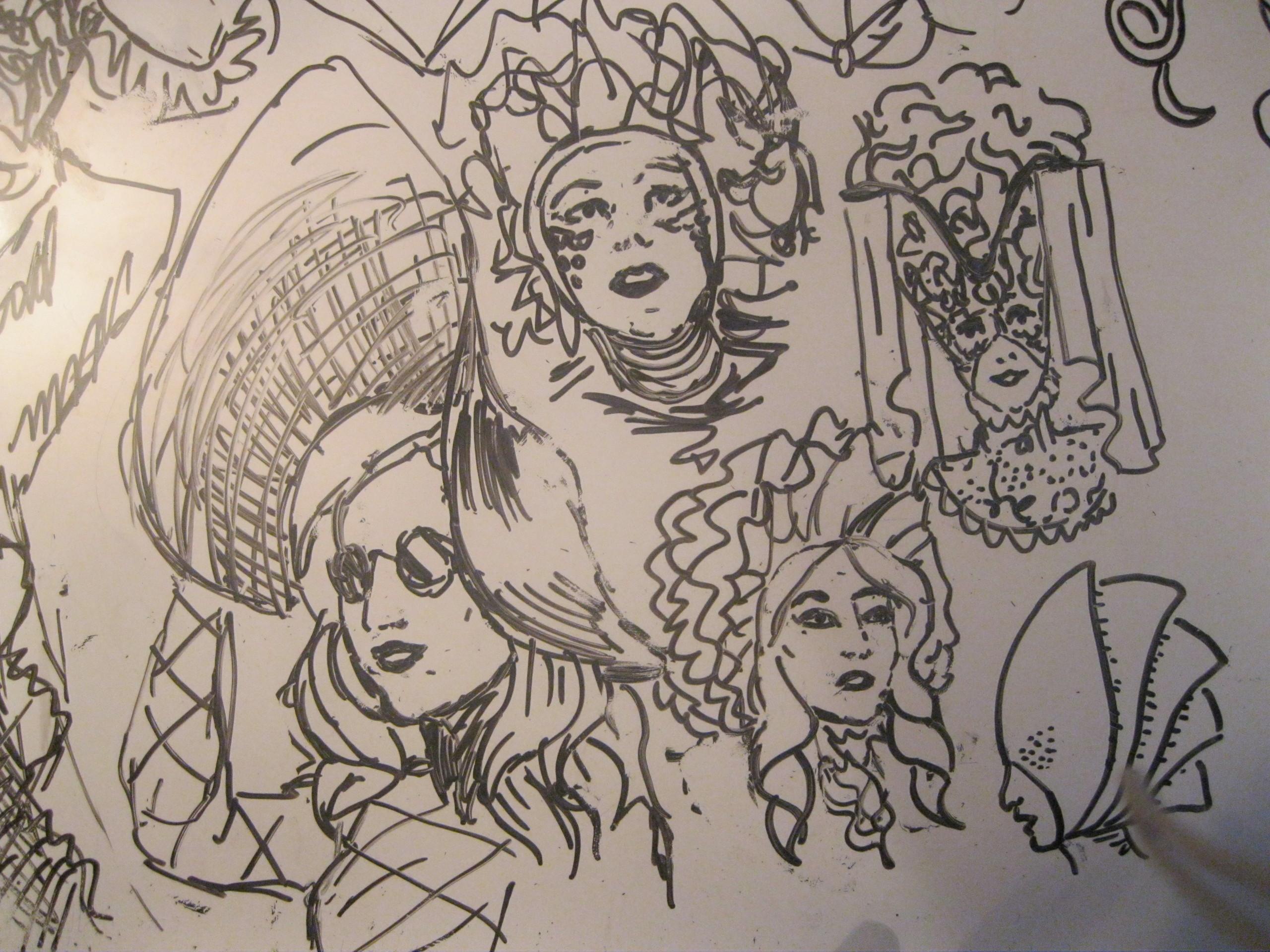 lady gaga in wytebord