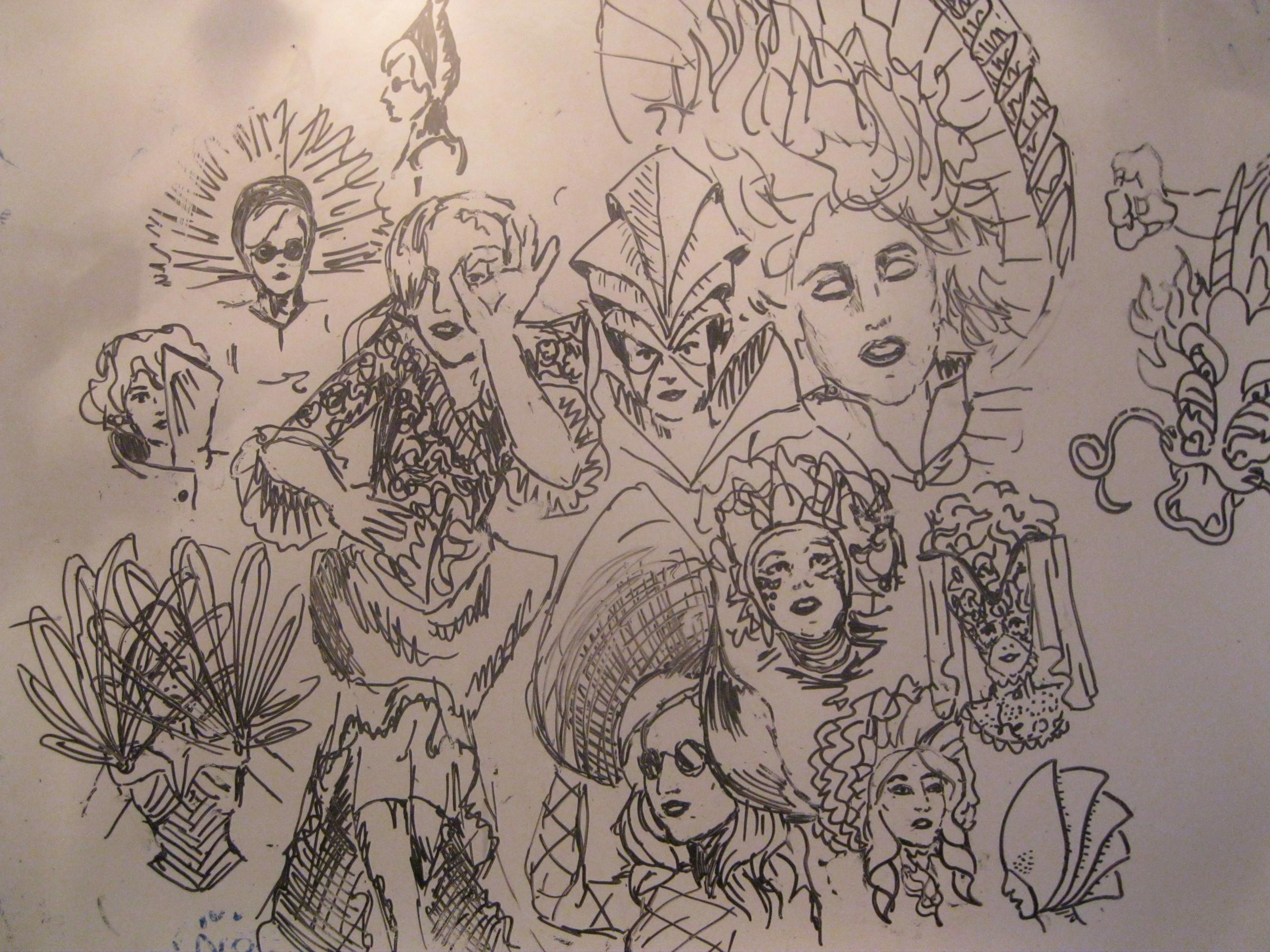 lady gaga in wytebord - Lady Gaga Fan Art (17893654) - Fanpop Lady Gaga
