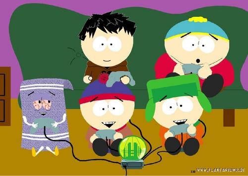 South Park Hintergrund entitled me with the boys vidieo game