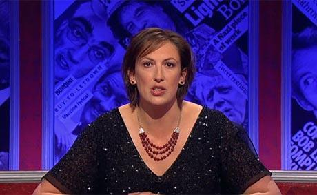 miranda on have i got news for you!!