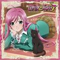 moka with a cat XD - rosario-vampire photo