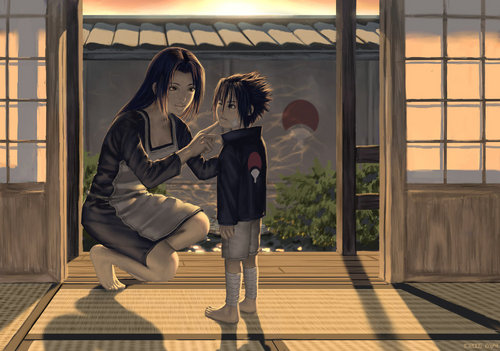 sasuke and mikoto