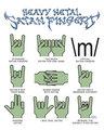 satanic hand signs
