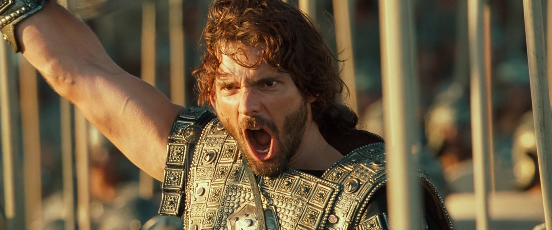 compare the iliad to the movie troy