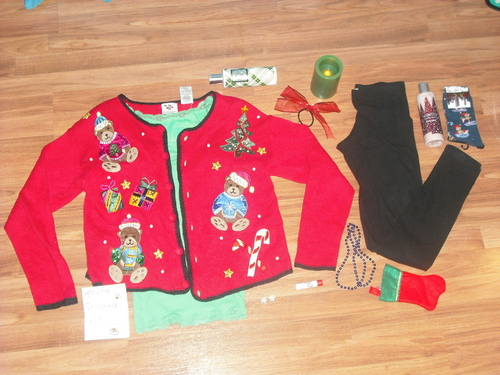 polyvore clippingg♥ wallpaper called ugly sweater rl set