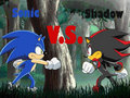 who would win? - shadow-the-hedgehog photo