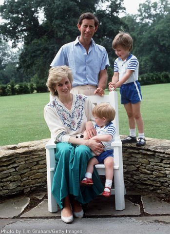 william harry diana - prince-william Photo