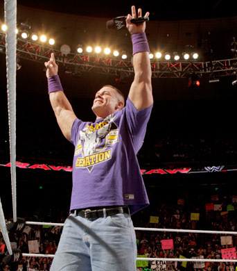 wwe raw john cena pictures. wwe raw john cena vs dolph