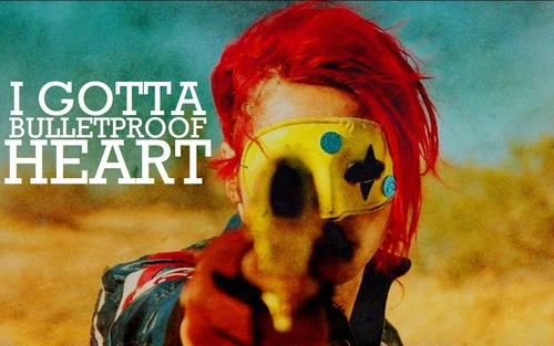 'Bulletproof Heart' - my-chemical-romance Wallpaper