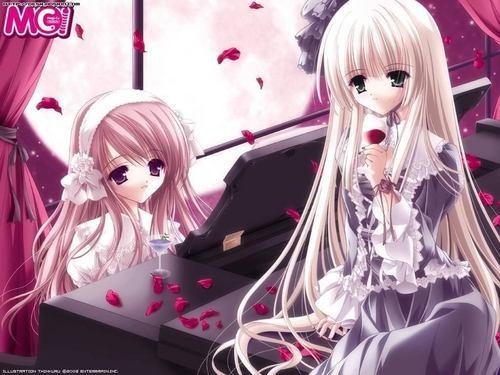 >anime girl<