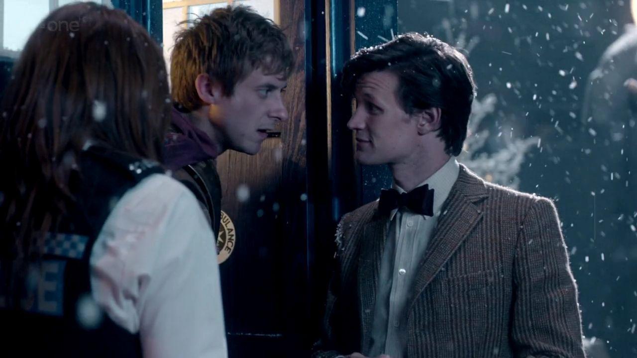 Doctor Who Wallpaper David Tennant Quote A Christmas Carol - Do...