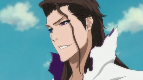 anime bleach wallpaper probably with anime entitled Aizen