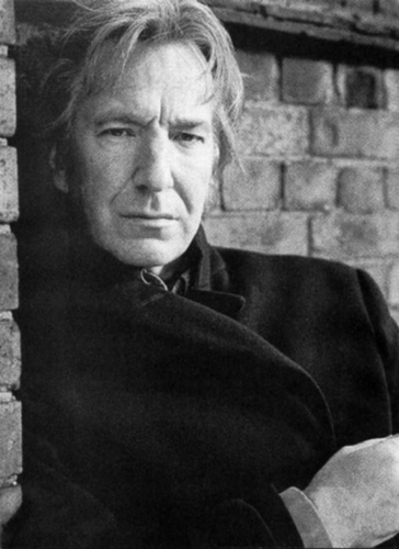 Alan Rickman karatasi la kupamba ukuta probably containing a business suit and a mitaani, mtaa entitled Alan Rickman