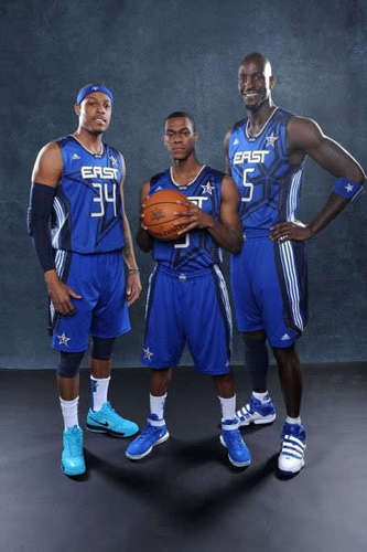 All Stars Paul, Rondo and Kevin!