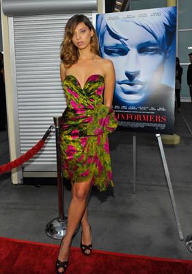 Angela at The Informers premiere Apri1 16, 2009