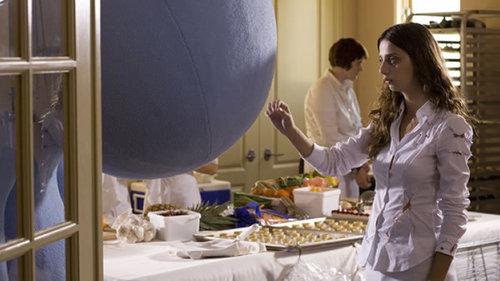 Angela in her new film Kabluey (2007), courtesy of director Scott Prendergast promo photos.