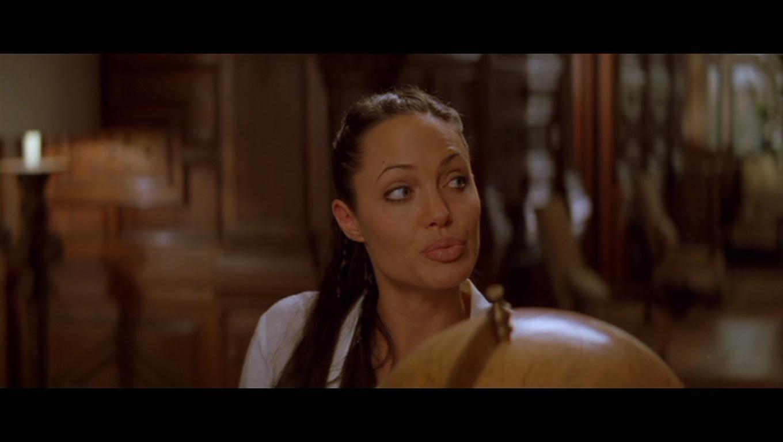 Jolie as Lara Croft in 'Lara Croft Tomb Raider: The Cradle Of Life ...