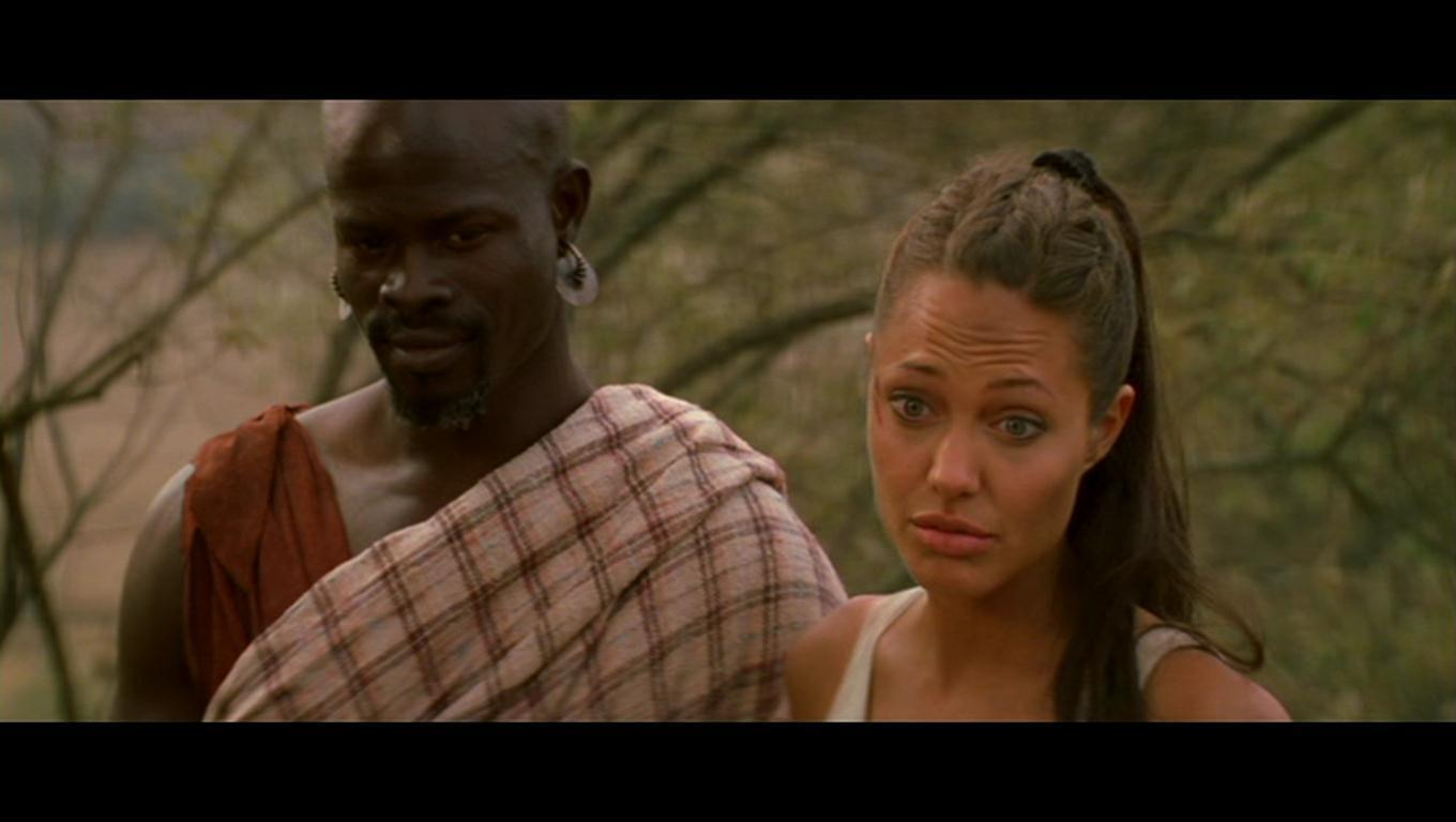Angelina Jolie As Lara Croft In Lara Croft Tomb Raider The Culla