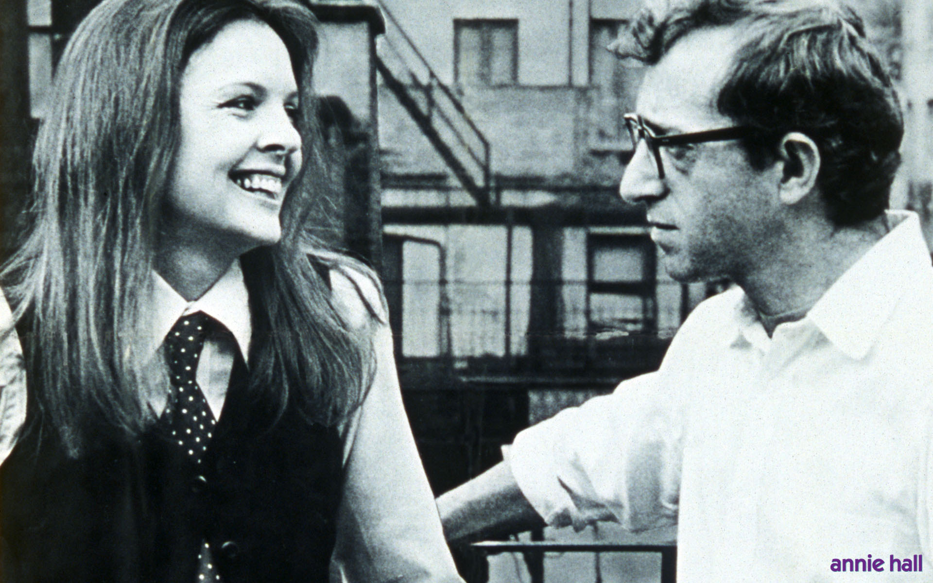 an analysis of annie hall a film by woody allen Annie hall is not your typical romcom, and that much is obvious right off the bat we start with woody allen, in character as alvie singer, looking right.