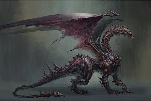 Archdemon Concept Art - dragon-age-origins Photo
