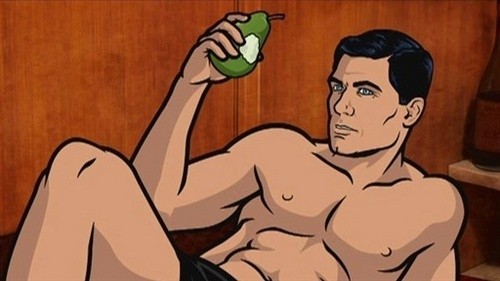 Archer wallpaper with anime entitled Archer in the Nude