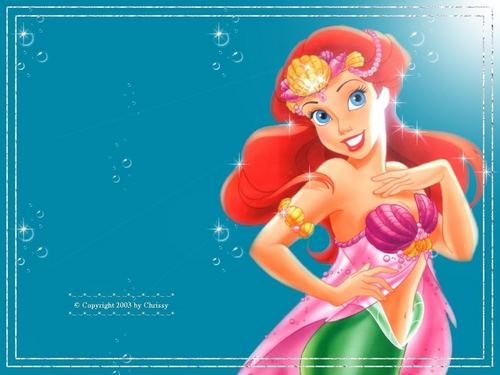Ariel wallpaper titled Ariel