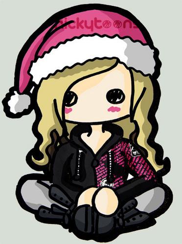 Avril Lavigne pasko Drawing