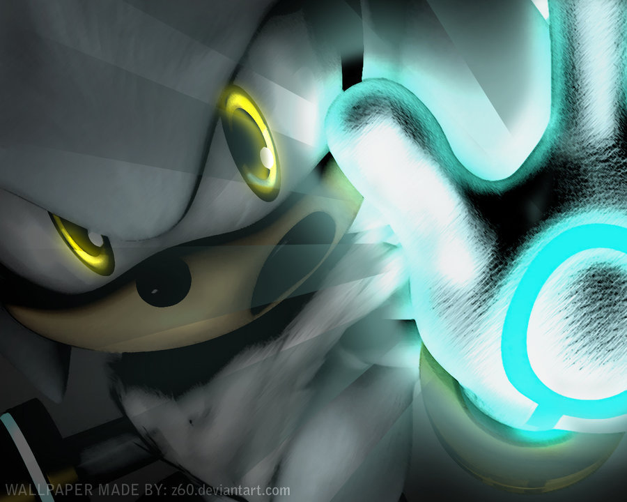 Silver the Hedgehog Awesome SILVER^^