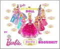 búp bê barbie Princess Doll