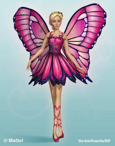 búp bê barbie as Mariposa - Official Still