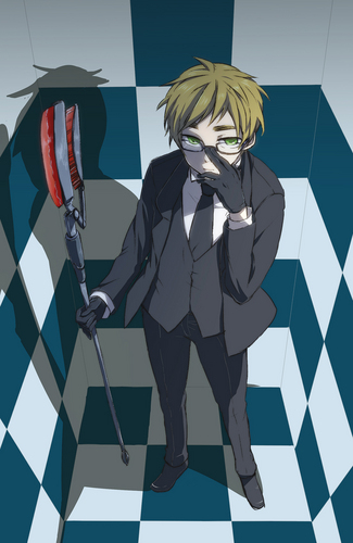 Hetalia: England wallpaper titled Black Butler cross-over